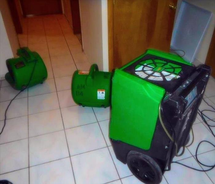 SERVPRO Equipment Ready for War