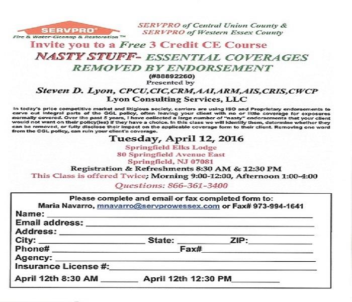 Community Continuing Education class for NJ Insurance Producers